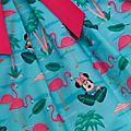Disney Store Robe flamants roses Minnie Mouse pour enfants