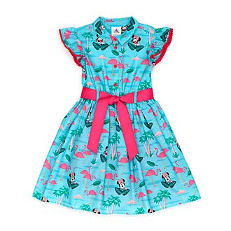 Disney Store Minnie Mouse Flamingo Dress For Kids