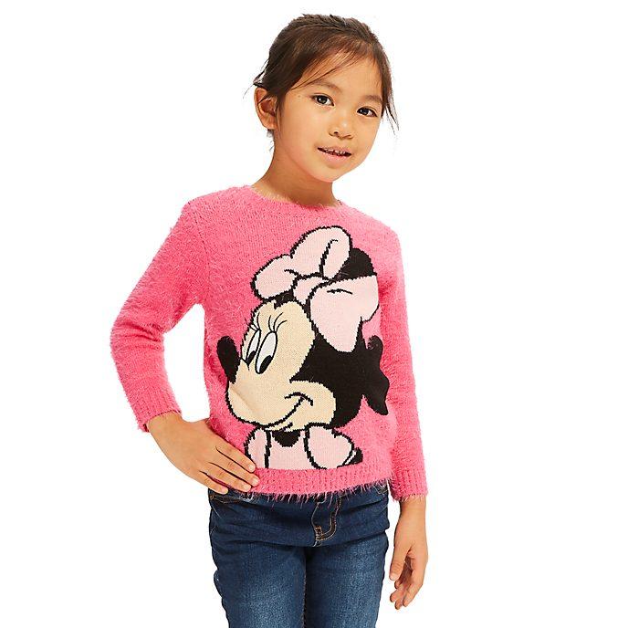 Disney Store - Minnie Maus - Flauschiger Pullover für Kinder