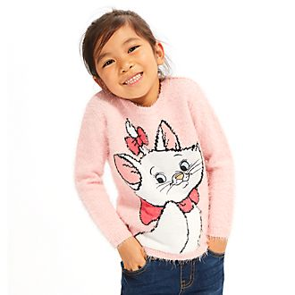 Disney Store Marie Fluffy Jumper For Kids