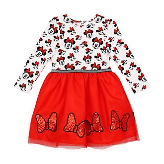 Disney Store Minnie Rocks the Dots Dress For Kids