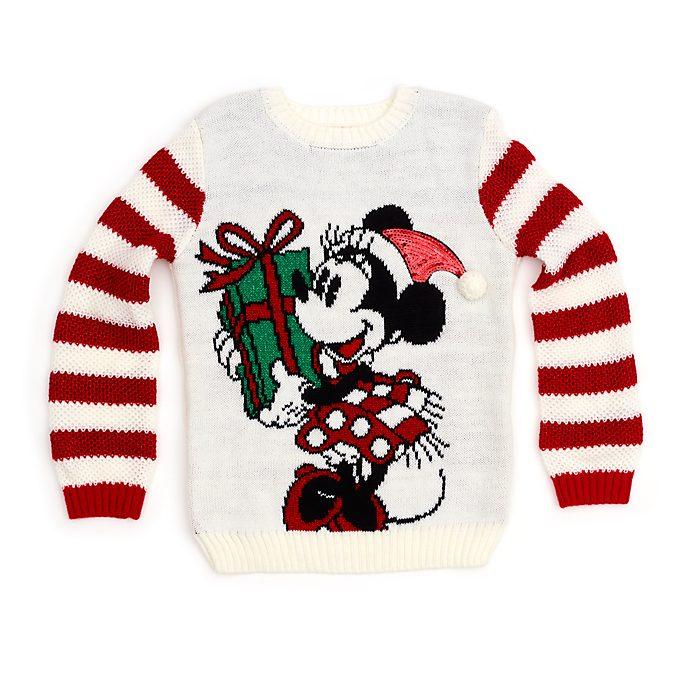 Jersey navideño infantil Minnie Mouse, Holiday Cheer, Disney Store