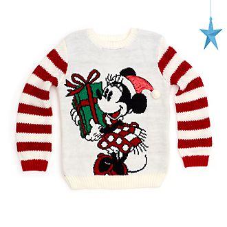Maglione natalizio bimbi Holiday Cheer Minni Disney Store