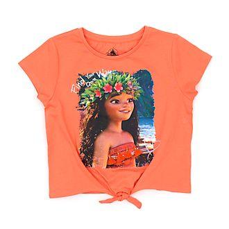 Maglietta bimbi Vaiana annodata sul davanti Disney Store