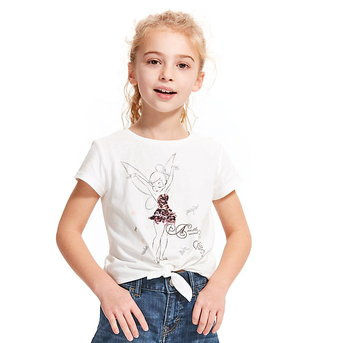 Disney Store Tinker Bell Tie-Front T-Shirt For Kids