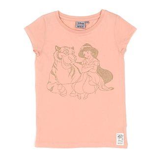 Camiseta infantil princesa Jasmine, WHEAT