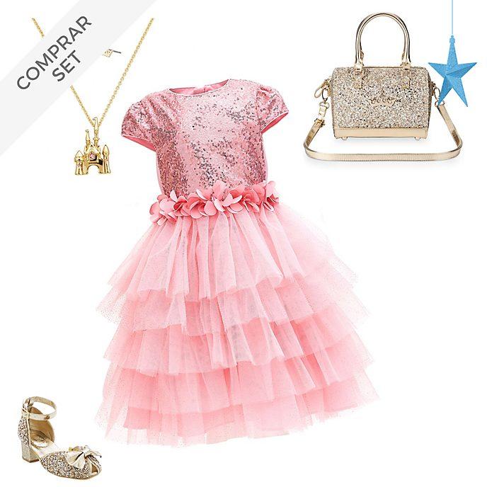 Conjunto fiesta infantil Aurora, La Bella Durmiente, Disney Store