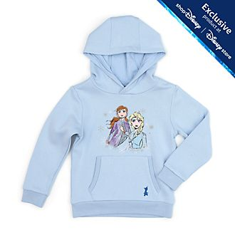 Disney Store Frozen 2 Hooded Sweatshirt For Kids