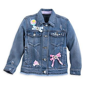 Disney Store Cinderella Denim Jacket For Kids
