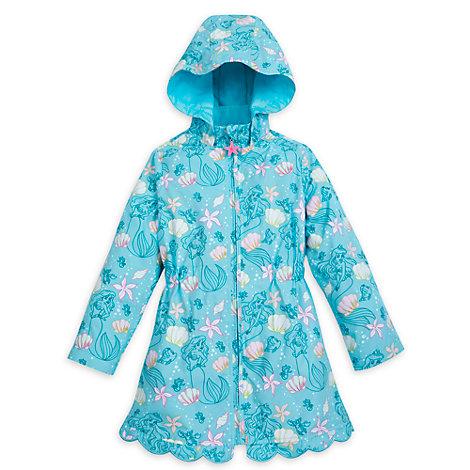 Imperméable à couleur changeante pour enfants La Petite Sirène