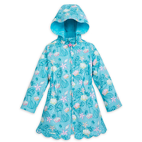 The Little Mermaid Colour Changing Raincoat For Kids