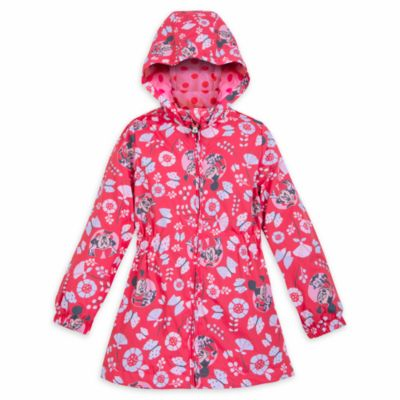Impermeable infantil que cambia de color Minnie