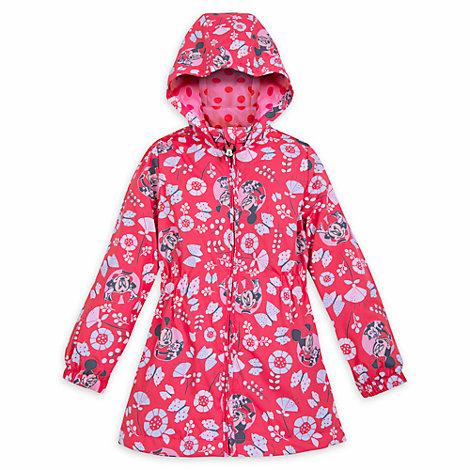 Minnie Maus - Regenmantel mit wechselnden Farben für Kinder