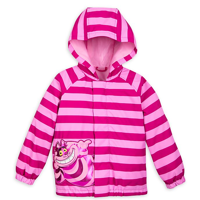 Disney Store Cheshire Cat Packable Raincoat For Kids