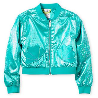 Disney Store The Little Mermaid Varsity Jacket For Kids