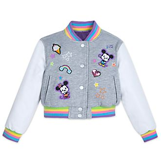 Disney Store Mickey and Minnie Varsity Jacket For Kids