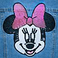 Disney Store Minnie Mouse Denim Jacket For Kids
