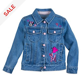 Disney Store Minnie Mouse Denim Jacket For Kids