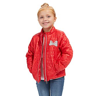 Disney Store Minnie Mouse Puffer Jacket For Kids