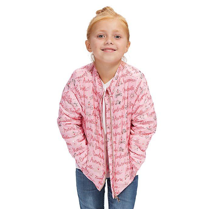 Disney Store Disney Princess Puffer Jacket For Kids