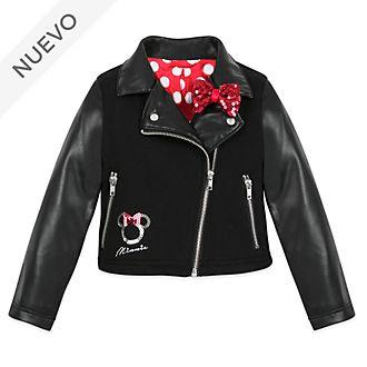 Chaqueta motociclista infantil Minnie Mouse, Disney Store