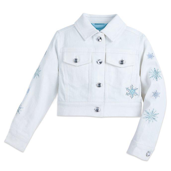 Disney Store Blouson en jean La Reine des Neiges pour enfants