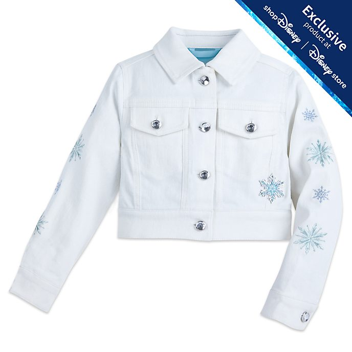 Disney Store Frozen Denim Jacket For Kids