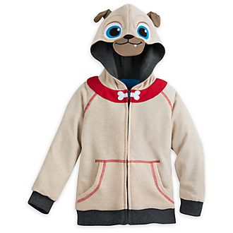 Sweatshirt à capuche réversible pour enfants Puppy Dog Pals