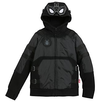 Disney Store Spider-Man Black Hooded Sweatshirt For Kids