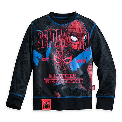 Haut à manches longues pour enfants Spider-Man