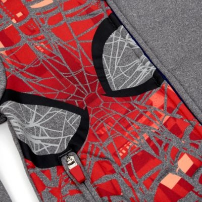 Felpa bimbi con cappuccio Spider-Man