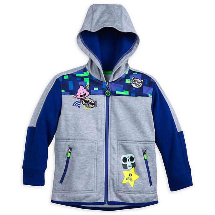 Disney Store Sweatshirt Ralph2.0 à capuche pour enfants