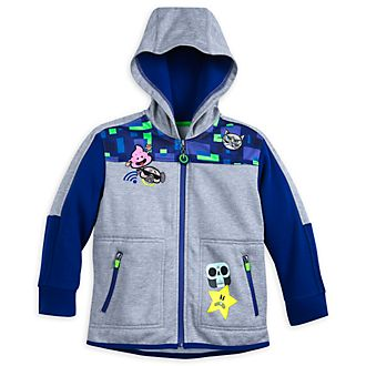 Disney Store Wreck-It Ralph 2 Hooded Sweatshirt For Kids