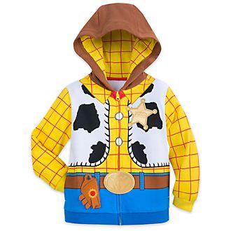 Disney Store Woody Costume Hooded Sweatshirt For Kids