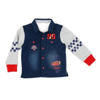 Disney Pixar Cars 3 Shirt and Jacket Set For Kids