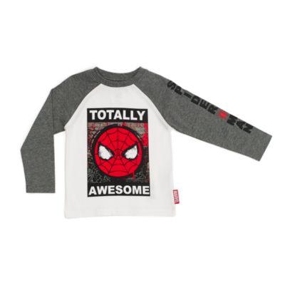 Spider-Man sæt med T-shirt og løbebukser til børn