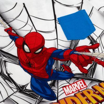 Completo bimbo maglietta e pantaloncini Spider-Man