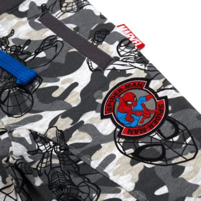 Pantaloni bimbo mimetici jogging Spider-Man