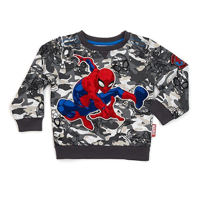 Felpa bimbi mimetica Spider-Man