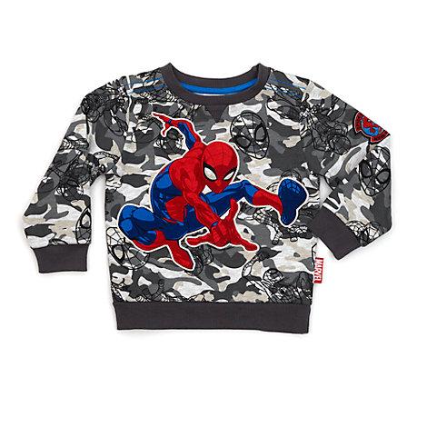 Sudadera camuflaje infantil Spider-Man