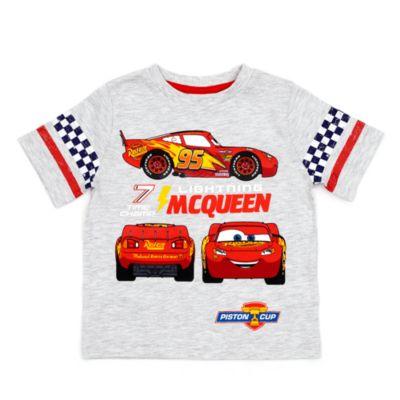 Conjunto de camiseta y pantalón corto ''El Rayo'' McQueen infantil