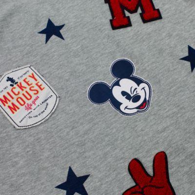 Mickey Mouse langærmet top til børn