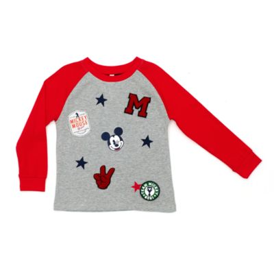 Mickey Mouse Long Sleeved Top For Kids