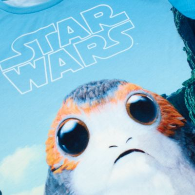 Maglietta bimbi Porg Star Wars: Gli Ultimi Jedi