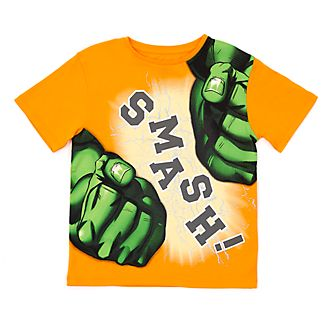 Camiseta infantil Increíble Hulk