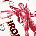 Camiseta Iron Man infantil