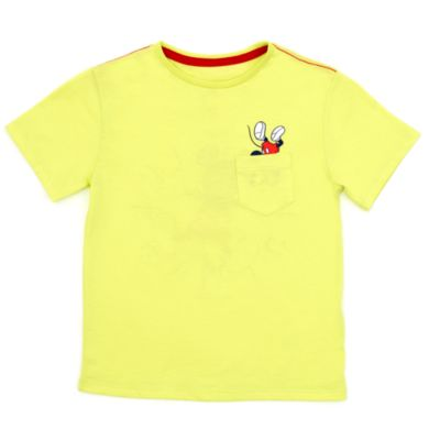 Camiseta infantil con bolsillo de Mickey Mouse