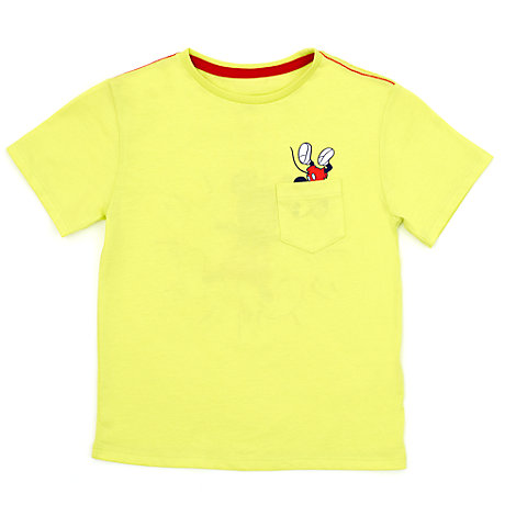 Micky Maus - T-Shirt mit Tasche für Kinder