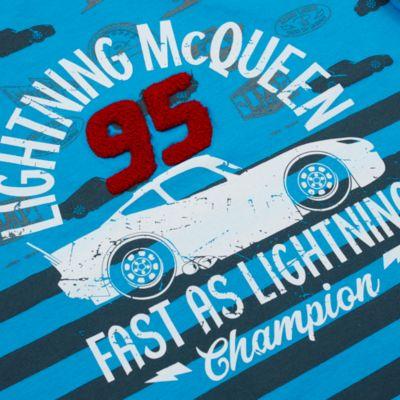 Lightning McQueen Blue T-Shirt For Kids