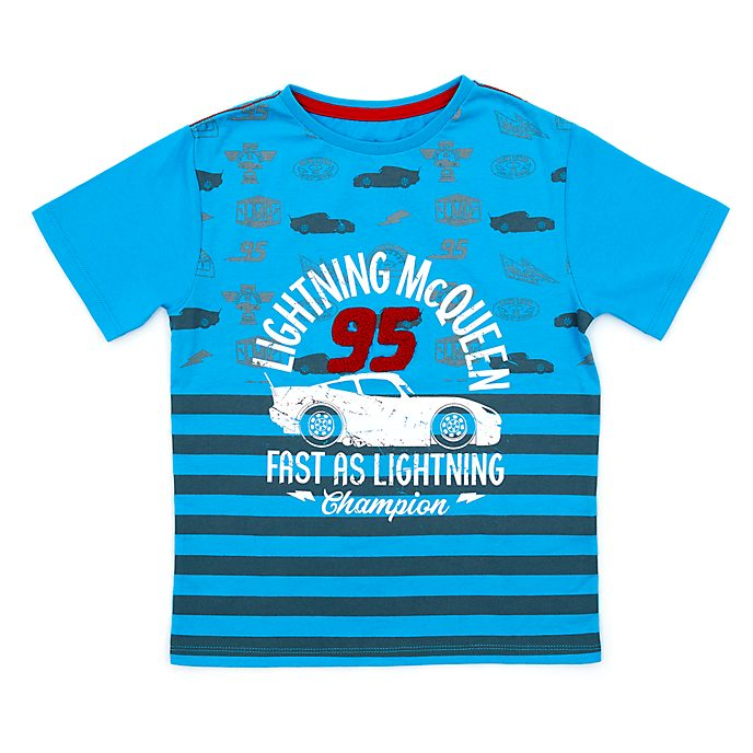 Lightning McQueen Blue T-Shirt For Kids